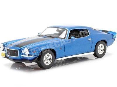 1971 Chevrolet Camaro Azul 1:18 Maisto 31131 Cochesdemetal.es