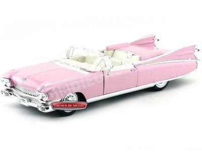1959 Cadillac Eldorado Biarritz Rosa 1:18 Maisto 36813 Cochesdemetal.es