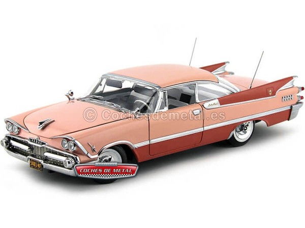 1959 Dodge Custom Royal Lancer Hard Top Rose Quartz 1:18 Sun Star 5481 Cochesdemetal.es