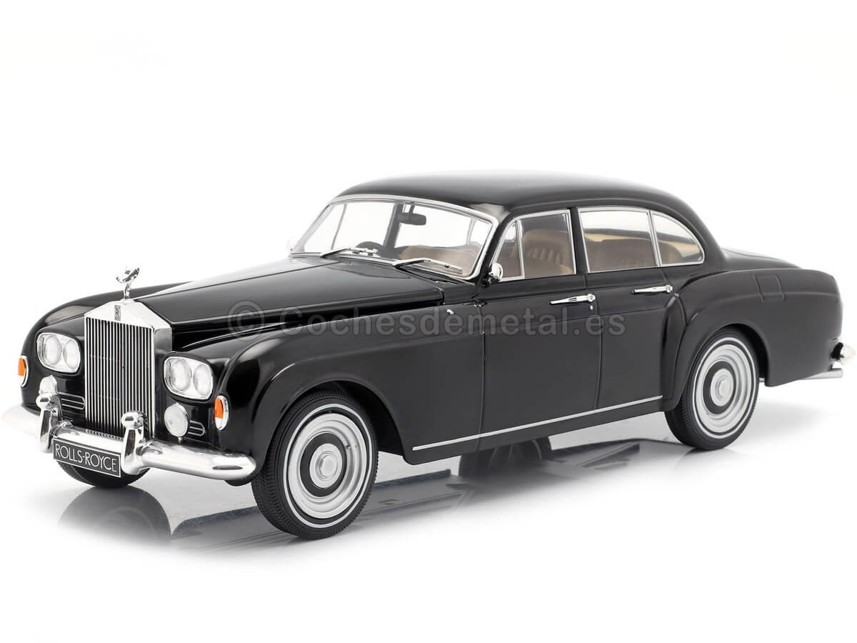 1963 Rolls-Royce Silver Cloud III Flying Spur Black 1:18 MC Group 18131 Cochesdemetal.es