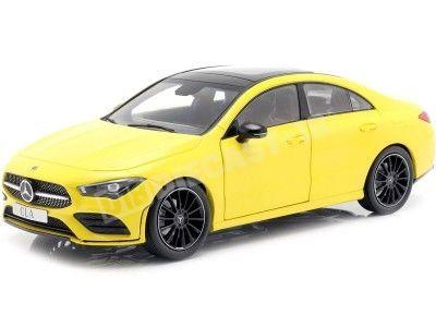 2019 Mercedes-Benz CLA Coupe (C118) Sun Yellow 1:18 Dealer Edition B66960473 Cochesdemetal.es