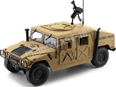 1984 Hummer Humvee R-2 Military Police Dessert Tan 1:18 Auto World AWML003B Cochesdemetal.es