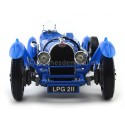 1934 Bugatti Type 59 Azul 1:18 Bburago 12062 Cochesdemetal.es