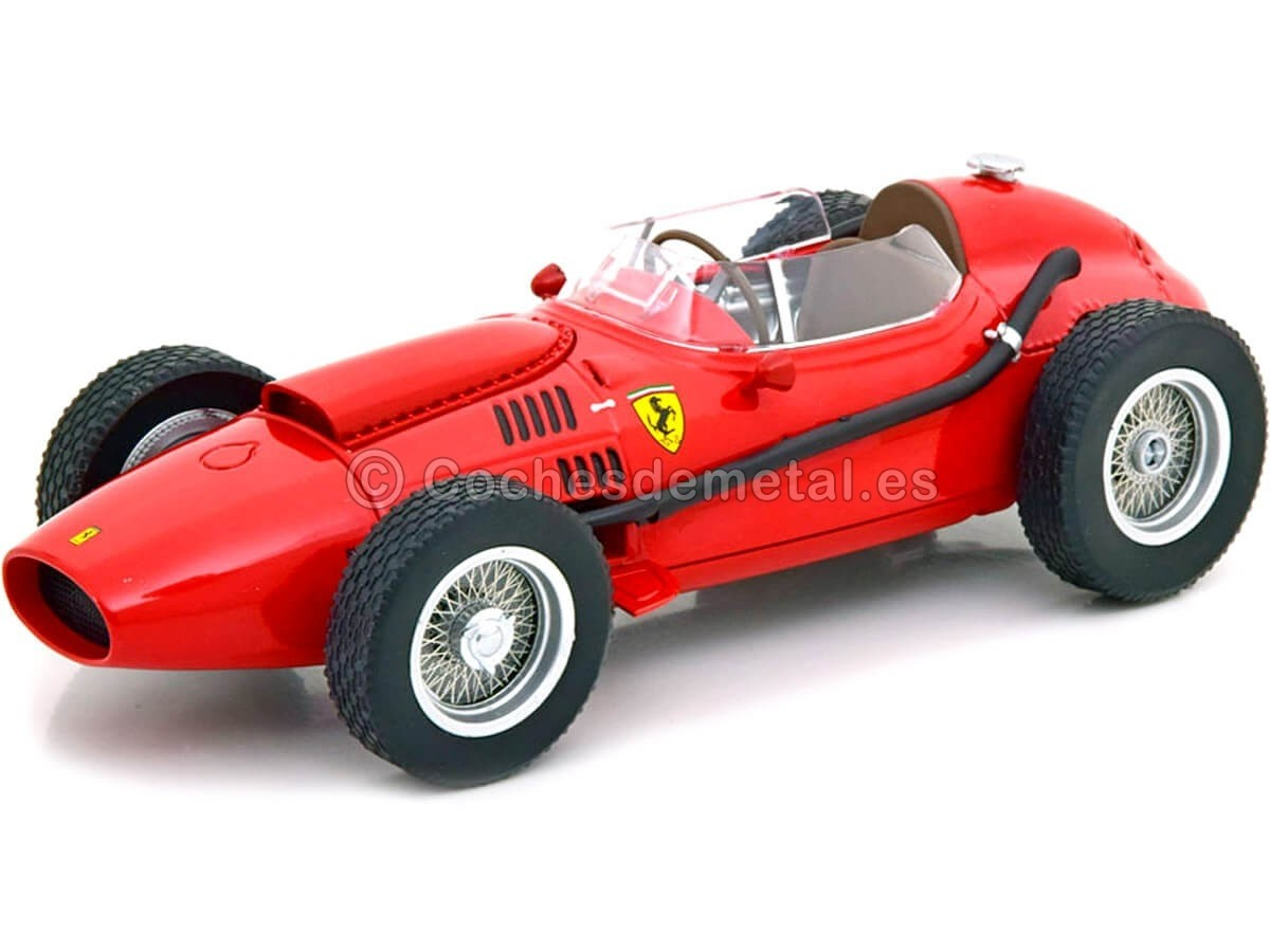 1958 Ferrari Dino 246 Plain Body Edition Red 1:18 CMR163 Cochesdemetal.es