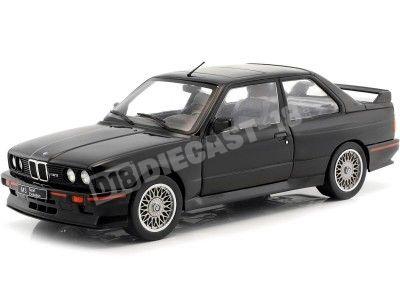 1990 BMW E30 Sport Evo Negro 1:18 Solido S1801501 Cochesdemetal.es