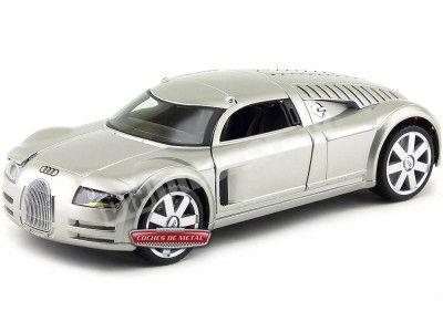 """2000 Audi Supersportwagen Concept """"Rosemeyer"""" Aluminio 1:18 Maisto 31625 Cochesdemetal.es"""