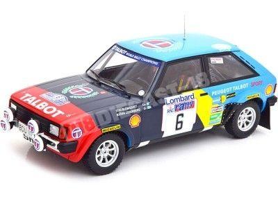 1982 Talbot Sunbeam Lotus Lombard RAC Rallye BlomQvist-Cederberg 1:18 IXO Models 18RMC035A Cochesdemetal.es