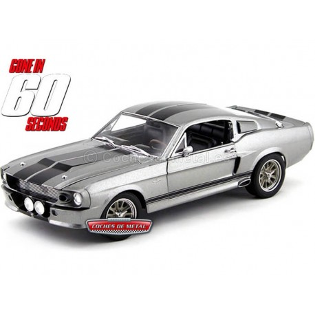 1967 Shelby GT 500E Eleanor 60 Segundos 1:18 Greenlight 12909 Cochesdemetal.es