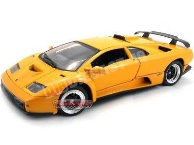 1999 Lamborghini Diablo GT V12 Amarillo 1:18 Motor Max 73168 Cochesdemetal.es