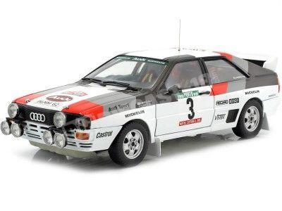 1983 Audi Quattro A1 Winner Rallye de Portugal 1:18 Sun Star 4229 Cochesdemetal.es