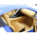 2016 Bugatti Chiron Blanco-Azul 1:18 GT Autos 11010MB Cochesdemetal.es