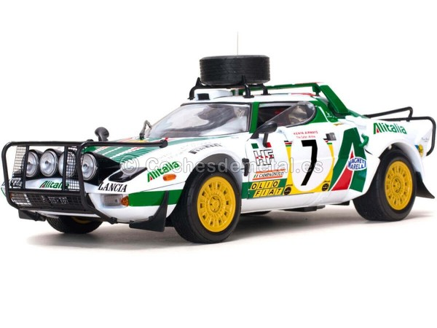 1977 Lancia Stratos HF Safari Rally Munari-Sodano 1:18 Sun Star 4564 Cochesdemetal.es