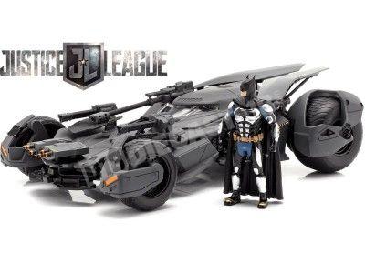 2016 Batmobile El amanecer de la Justicia con Figura de Batman 1:24 Jada Toys 99232 Cochesdemetal.es