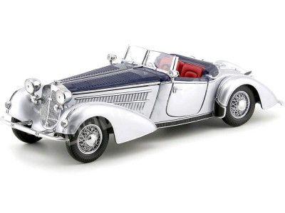 1939 Horch 855 Spezial Roadster Azul-Plata 1:18 Sun Star 2403 Cochesdemetal.es