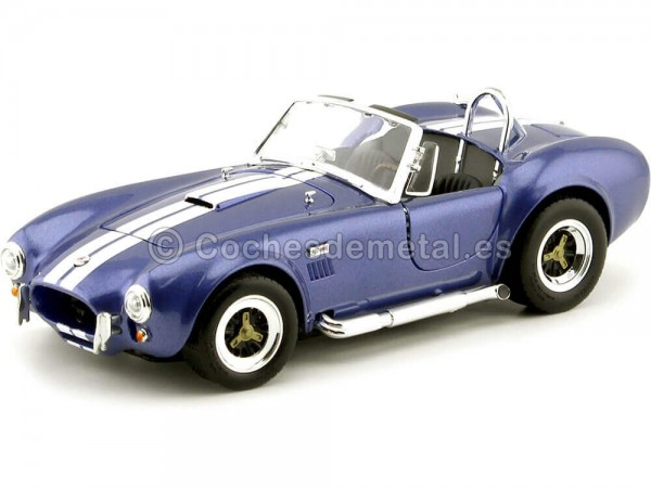 1964 Ford Shelby Cobra 427 S-C Azul 1:18 Road Signature 92058 Cochesdemetal.es