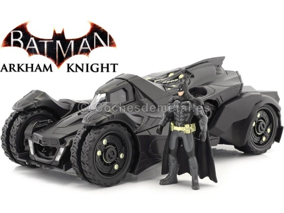 2015 The Arkham Knight Batmobile + Figura de Batman 1:24 Jada Toys 98037 Cochesdemetal.es