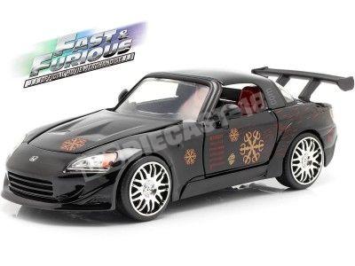 "1995 Honda S2000 ""Fast & Furious"" Black 1:24 Jada Toys 99541 Cochesdemetal.es"