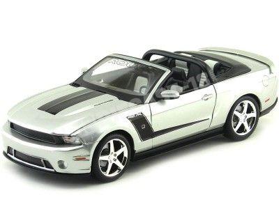 2010 Roush 427R Ford Mustang Gris 1:18 Maisto 31669 Cochesdemetal.es
