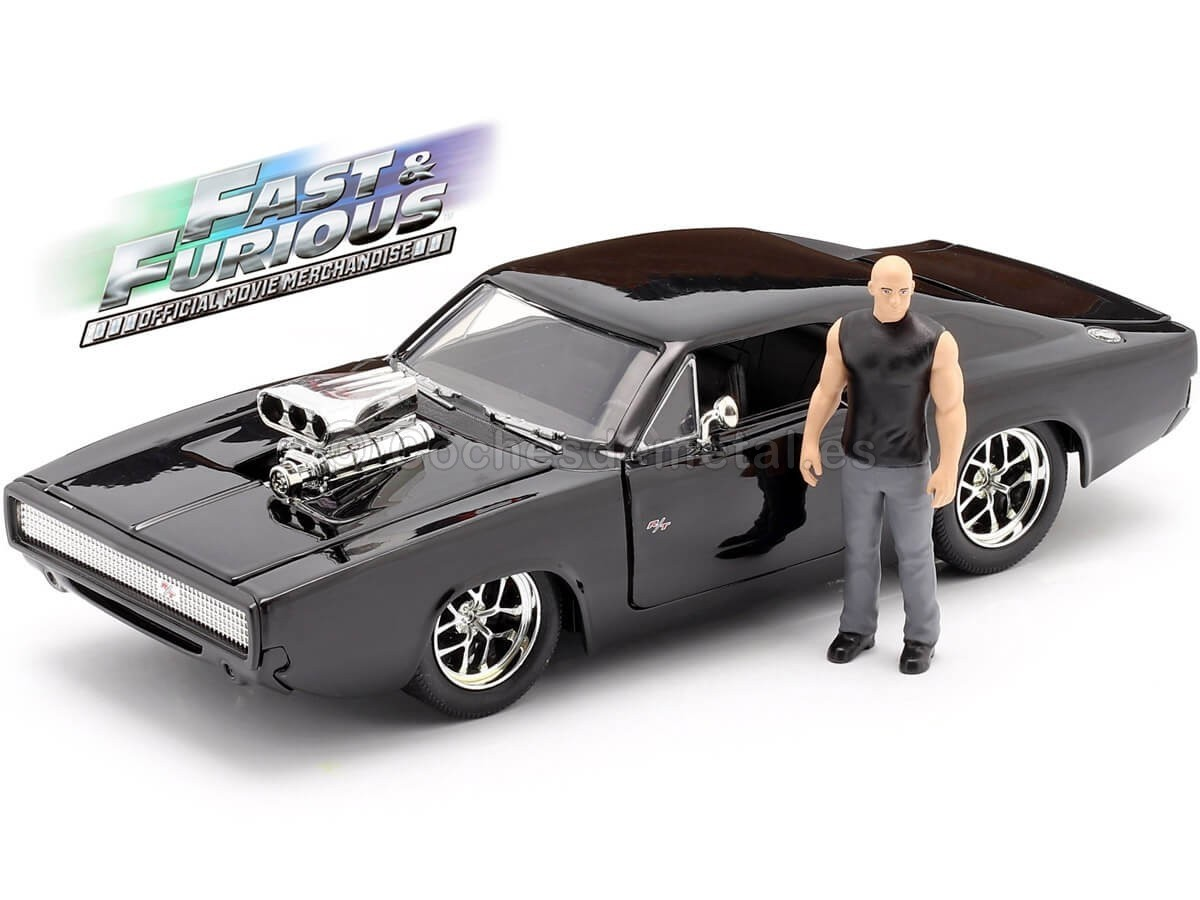 1970 Dodge Charger R T Fast Furious 7 Figura Dom 1 24 Jada To