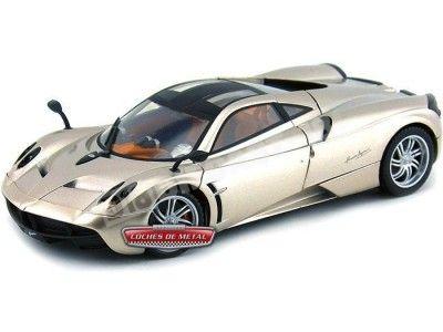 2011 Pagani Huayra Gold Metallic Mondo Motors 50112 Cochesdemetal.es