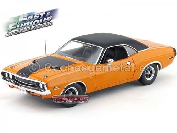 """1970 Dodge Challenger R-T 383 Magnum """"Fast And Furious II"""" 1:18 Greenlight 12947 Cochesdemetal.es"""