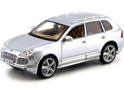 2008 Porsche Cayenne 3.2 V6 Turbo Gris Metalizado 1:18 Maisto 31113 Cochesdemetal.es