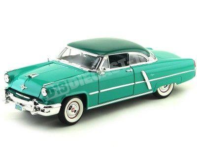 1952 Lincoln Capri Verde Metalizado 1:18 Lucky Diecast 92808 Cochesdemetal.es
