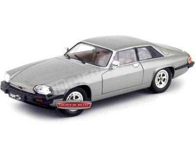 1975 Jaguar XJS V12 Gris Metalizado 1:18 Road Signature 92658 Cochesdemetal.es