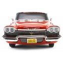 "1958 Plymouth Fury ""Christine"" Red-White 1:18 Auto World AWSS102 Cochesdemetal.es"