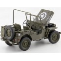 1942 Jeep Willys 1-4 Ton Army Truck Abierto Verde Caqui 1:18 Welly 18055 Cochesdemetal.es