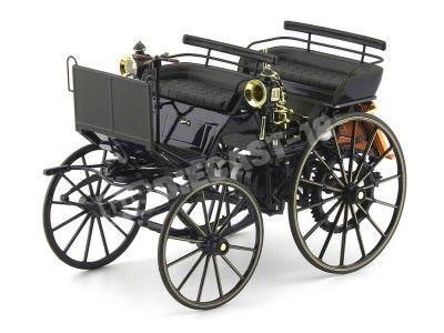 1886 Carruaje a Motor Daimler Motorkutsche Azul 1:18 Dealer Edition B66041416 Cochesdemetal.es