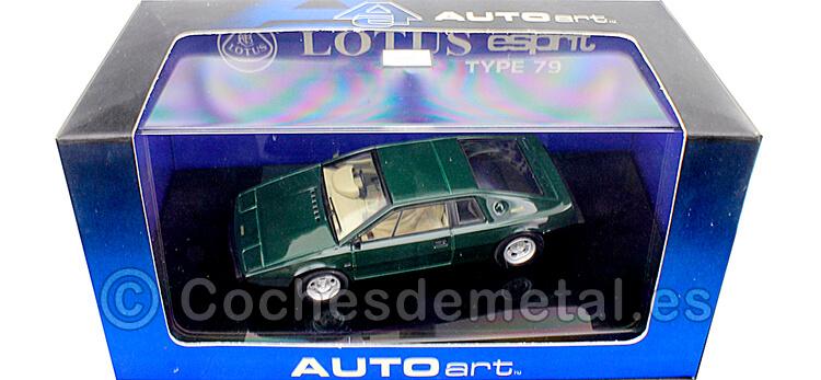 1979 Lotus Esprit Type Verde Inglés 1:43 AUTOart 55312