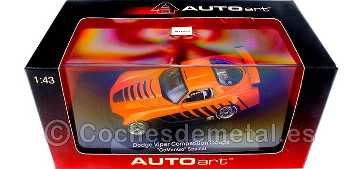 2004 Dodge Viper Competition Coupe Special GoManGo Naranja 1:43 AUTOart 60422