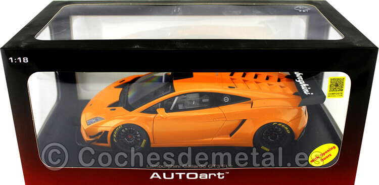 2013 Lamborghini Gallardo GT3 FL2 Metallic Orange 1:18 AUTOart 81357