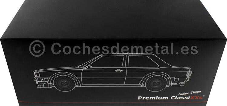 1980 Audi 80 (B2) Gr.2 Nº51 Wolf/Rosterg ETCC Zolder 1:18 Premium ClassiXXs PCL30226