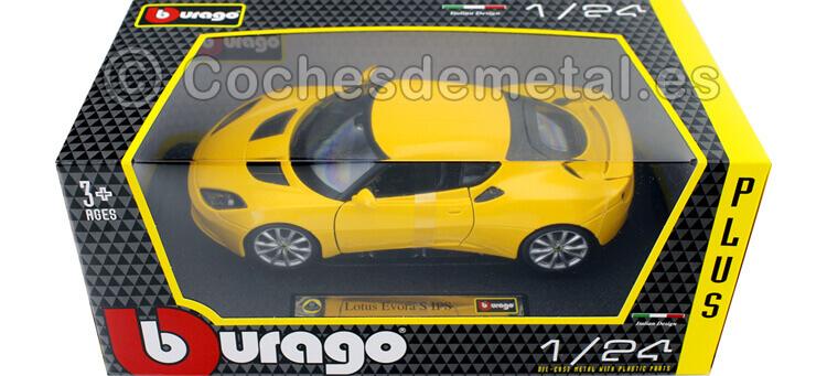 d30a98e4d4d0 2015 Lotus Evora S IPS Amarillo 1 24 Bburago 21064. BB21064Y caja.JPG