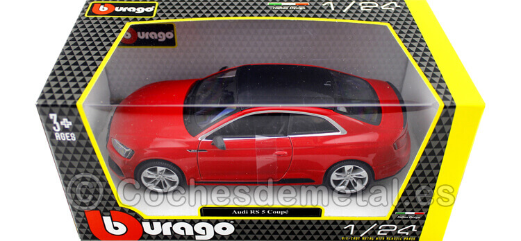 copy of 2019 Audi RS 5 Coupe Rojo 1:24 Bburago 21090