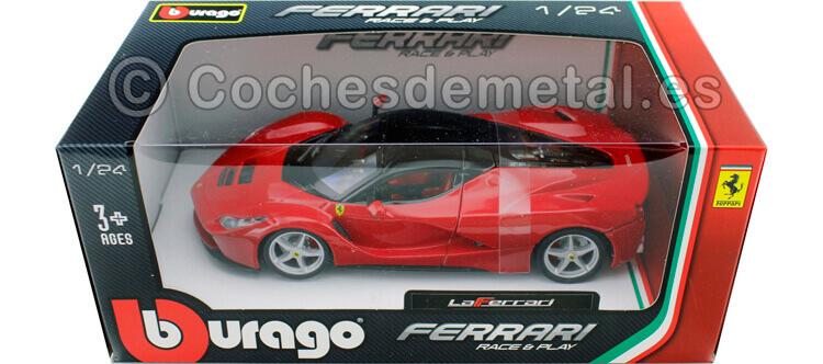 2015 Ferrari F70 LaFerrari Rojo 1:24 Bburago 18-26001