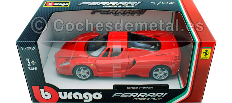 2006 Enzo Ferrari Rojo 1:24 Burago 18-26006