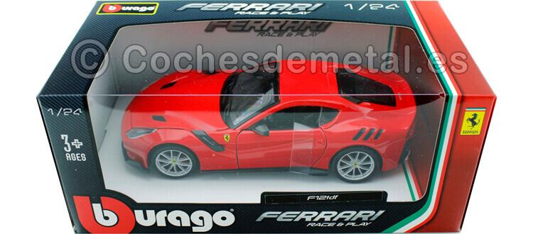 2015 Ferrari F12tdf Rojo 1:24 Bburago 18-26021