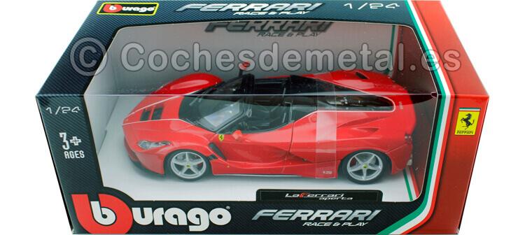 2015 Ferrari F70 LaFerrari Aperta Rojo 1:24 Bburago 18-26022