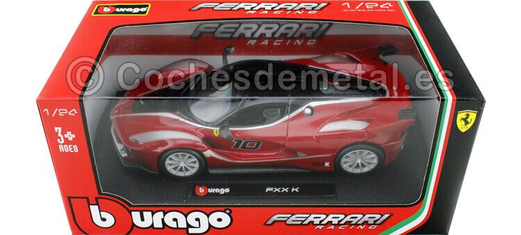 2015 Ferrari FXX-K Rojo 1:24 Bburago 18-26301