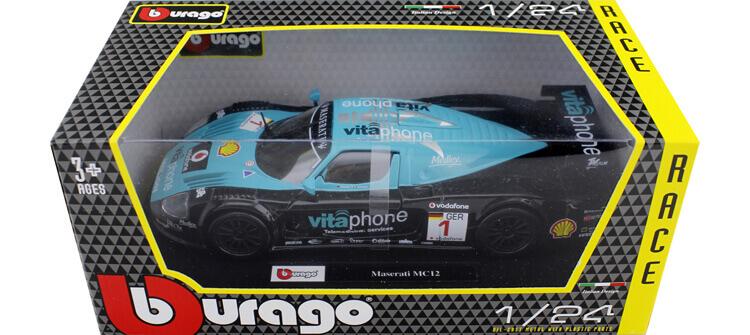 2010 Maserati MC12 Winner Fia GT1 M. Bartels/ A. Bertolini 1:24 Bburago 18-28004