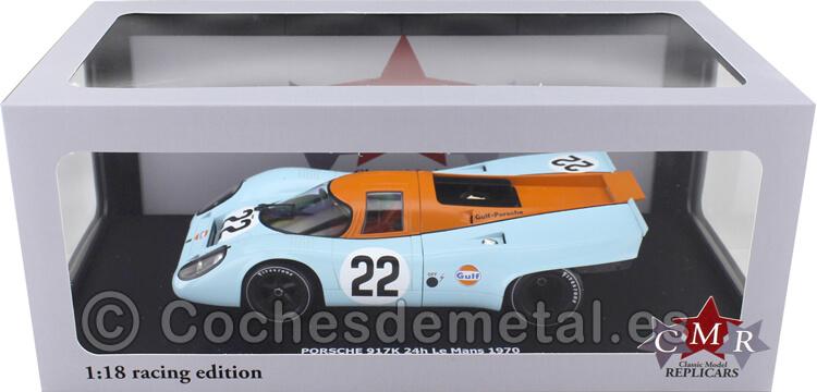1970 Porsche 917K 24h LeMans 22 Hobbs- Hailwood 1:18 CMR129