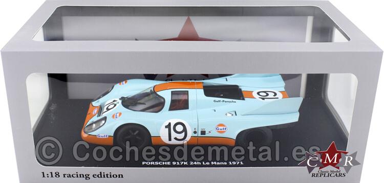 1971 Porsche 917K 24h LeMans 19 Attwood-Muller 1:18 CMR136