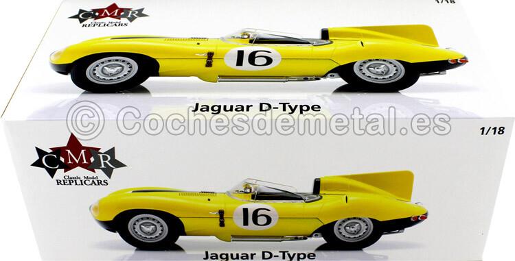 1957 Jaguar D-Type 24h LeMans 1957 Frere-Rousselle 1:18 CMR144