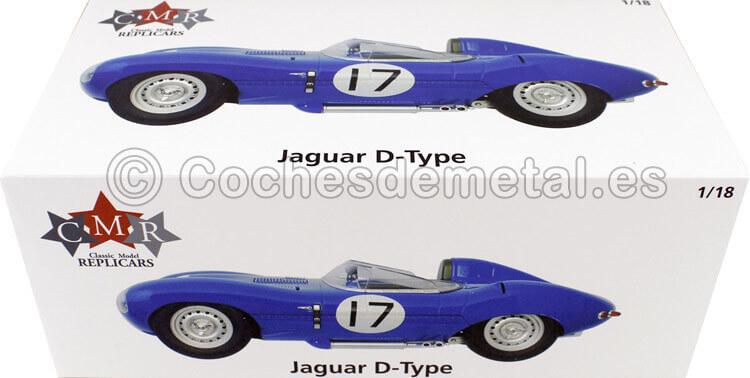 1957 Jaguar D-Type 24h LeMans Lucas-Brussin 1:18 CMR145