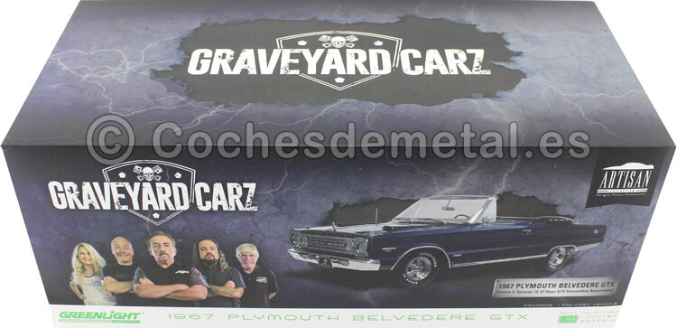 1967 Plymouth Belvedere GTX Graveyard Carz TV Series 1:18 Greenlight 19059