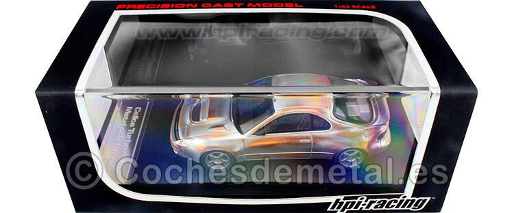 1992 Toyota Celica Turbo 4WD Metal Polish Model 1:43 HPI Racing 8178