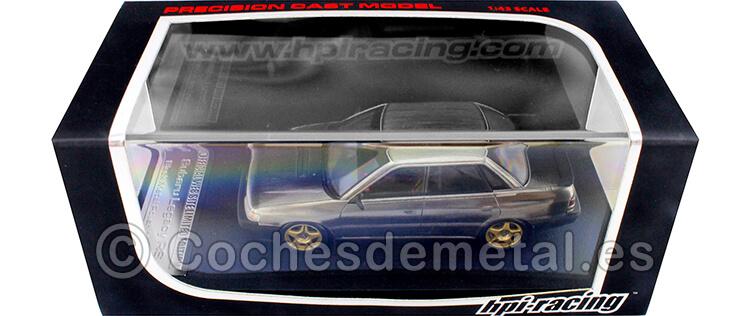 1989 Subaru Legacy RS Black Metal Polish Model 1:43 HPI Racing 8192